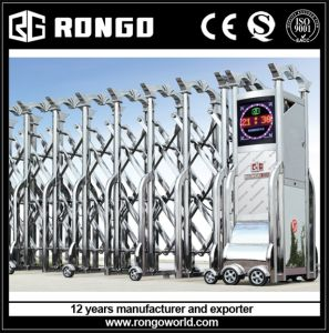 Industrial #201 or #304 Stainless Steel Retractable Fence Gate pictures & photos