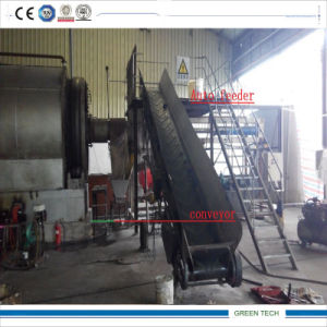 Semi-Continuous Tyre Pyrolysis Machine with Auto Feeders pictures & photos