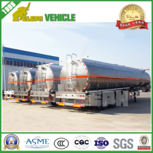 Commercial Vehicle Alloy Fuel Oil Aluminum Tanker Trailer
