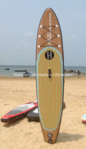 2015 Popular Wood Color Paddle Board Surfboard pictures & photos