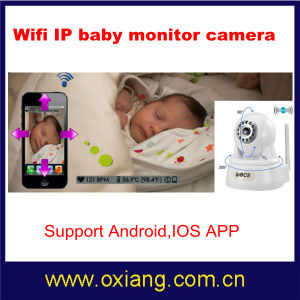 Wireless WiFi IP Baby Monitor Camera Support Two Way Speak pictures & photos