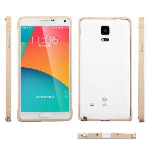 Golden Metal Aluminum Bumper Case for Samsung Galaxy Note 4 N9100