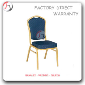 Metal Blue Fabric Cheap Price Catering Chair (BC-33) pictures & photos