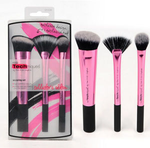 New Amazon Hot Sell Rt Makeup Brush Set Custom Logo 3PCS/Set