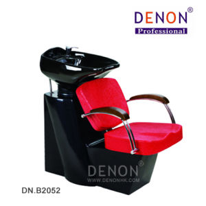 Red Color Shampoo Chair Salon Furniture (DN. B2052) pictures & photos