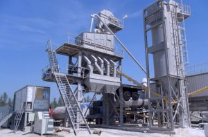 120t/H Stationary Asphalt Mixing Plant with Integrated Finished Bin pictures & photos