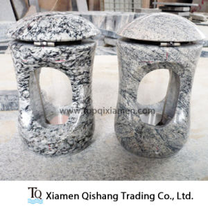 Wholesale China Granite Cemetery Candle Lantern with Covers