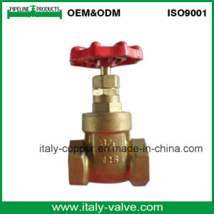 "CE Certified 3/4"" Brass Forged Gate Valve (AV4054) pictures & photos"