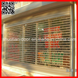 Commercial PC Plastic Roller Shutter Door (ST-004) pictures & photos