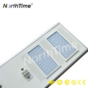 All in One Solar Street Light Bridgelux LED Lithium Battery for Outdoor Lighting pictures & photos