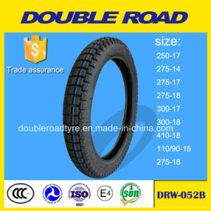 Popular Pattern 300X17 Motorcycle Tire to Africa pictures & photos