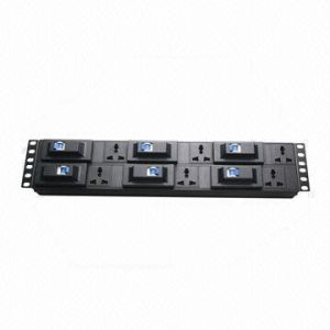 8-Way Universal Plug Socket, 10A, 2u, 19-Inch Network Cabinet Size of PDU pictures & photos
