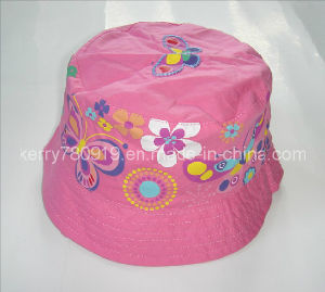 Child Fashion Floral Cotton Hat (DH-LH61625) pictures & photos