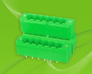 Pluggable Terminal Block with Dual Row Pin Header pictures & photos