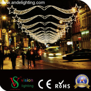 LED Christmas Motif Cross Street Light pictures & photos