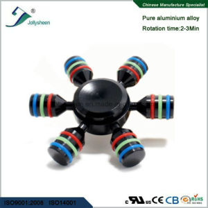 Six Arms of Alloy Hand Spinner Finger Spinner Fidget Spinner Compliant for Ce, RoHS, En71 pictures & photos