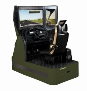 Virtual Driving Simulator for Manual or Automatic Transmission