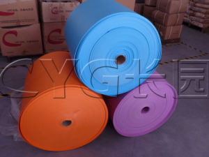 Colorful IXPE Foam Irradiation Crosslinked Polyethylene Foam Roll pictures & photos