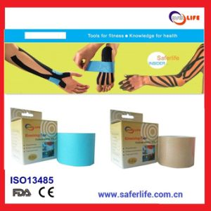 Wholesale Sport Therapy Muscle Elastic Multicolor 5m X 5cm Kinesiology Tapekinesio Tape pictures & photos