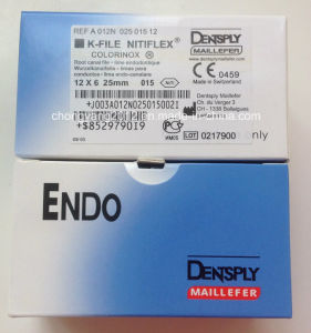 Dental Root Canal Endodontic Dentsply H-Files Niti Flexible pictures & photos