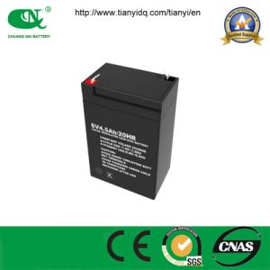 6V 4.5ah AGM Battery for Emergency Lighting/ Telecom