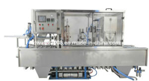 Automatic Red Wine Cup Washing Filling Sealing Machine pictures & photos
