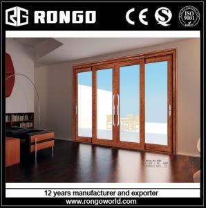 Elegant Mansion Aluminum Interior Glazing Door pictures & photos