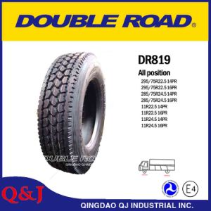 Low Profile 22.5 Drive Tubeless Truck Tires for USA Market pictures & photos