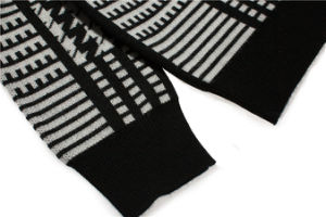 Custom Round Neck Jacquard Pullover Sweater for Men pictures & photos