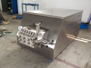 Industrial Use 2000L/H Food High Pressure Homogenizer for Milk pictures & photos