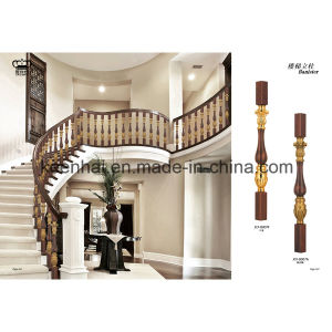 Villa Decorative Luxury Stair Balcony Cast Aluminum Balustrade pictures & photos