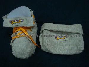 Sugar Linen Bag in Shoe & Pocket Shape (LB-002)