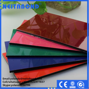 PE/PVDF/Feve Building Material Breakable/Unbreakable Aluminum Composite ACP Sandwich Panel pictures & photos