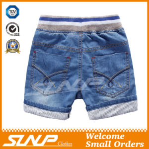100% Cotton Denim Boys Short Jean Pants pictures & photos