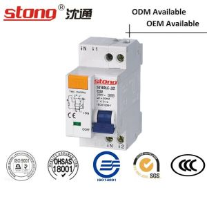 St30le-32 with Current Protection Residual Current Circuit Breaker pictures & photos