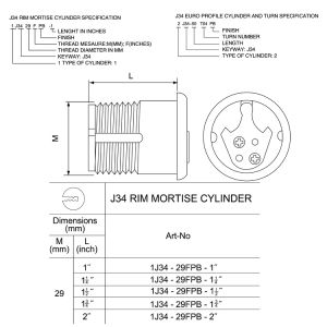 Cylinder (J34) pictures & photos