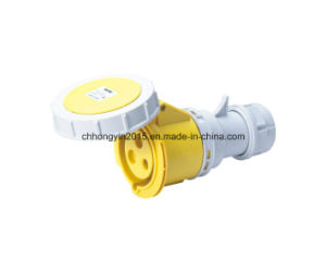 High-End Type Industrial Socket 16A IP67 3pins Industrial Connector pictures & photos