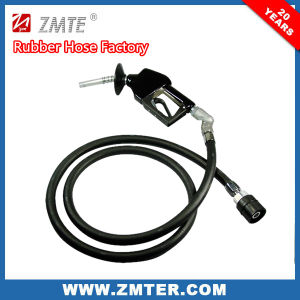 Steel Wire Braid Rubber Gas Station Hose for Petroleum Application pictures & photos