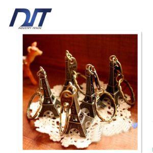 Distress Paris Iron Tower Key Ring Christmas Gift Split Ring