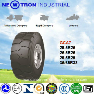 Forklift Skid Steer Solid Tire, OTR Tire with Gcc 29.5r25