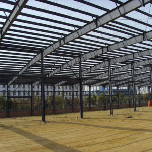 Light Pre Assembled Steel Frame Structure Workshop pictures & photos