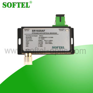 FTTH 1 Output Optical Receiver with Build-in Wdm pictures & photos
