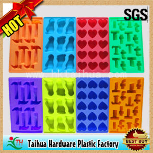 Custom Ice Cube Tray with Silicone Ice Cube Box (TH-bg006) pictures & photos