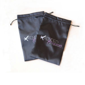 Satin Pouches with Logo Printed Wholesale