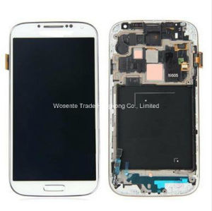 High Quality for Samsung Galaxy S4 I9500 I9505 I337 LCD Display and Touch Screen with Frame