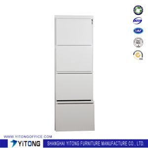 Yitong 4-Drawer Metal Storage Cabinet / Office Use Steel Movable Cabinet pictures & photos