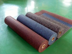 China Facroty Sale Rubber Interlock/Tile/Roll Sports Gym Flooring pictures & photos