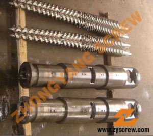 Liansu Lianguan Machinery Conical Twin Screw Barrel pictures & photos