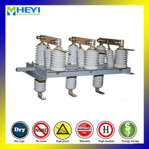 Indoor High-Voltage Isolation Switch AC Gn19-12 Bulkhead 11kv Load Break Switch 1000A pictures & photos