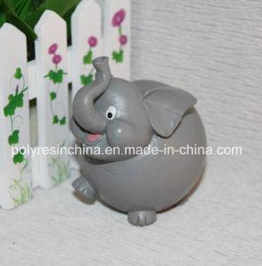 Polyresin Cartoon Elephant, Resin Elephant Cartoon Figure pictures & photos
